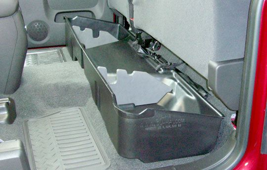 Under Seat Storage For Silverado Sierra Extended Cab Gmc