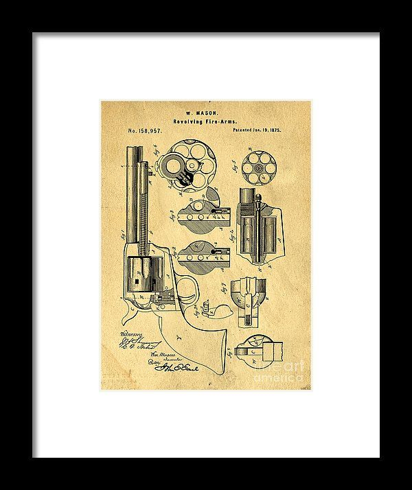 Colt peacemaker patent art blueprint drawing framed print by edward colt peacemaker patent art blueprint drawing framed print by edward fielding malvernweather Image collections