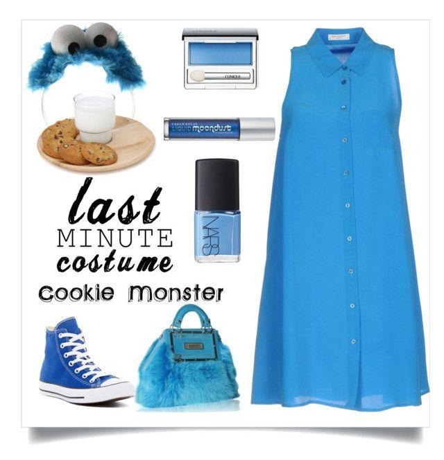 Last Minute CostumeCute Cookie Monster By Alyssatama On Polyvore Featuring Equipment