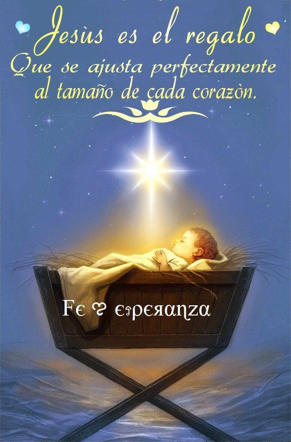 Frases El Mejor Regalo De Navidad.Jesus Es El Mejor Regalo Feliz Ano Nuevo Navidad