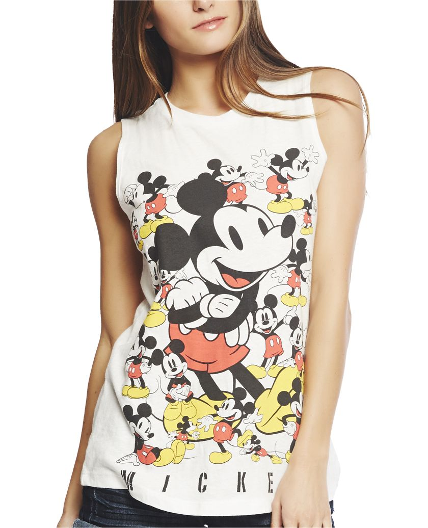 bc73c0ac Mickey Mouse™ Tank | Wet Seal | I MADE THIS.