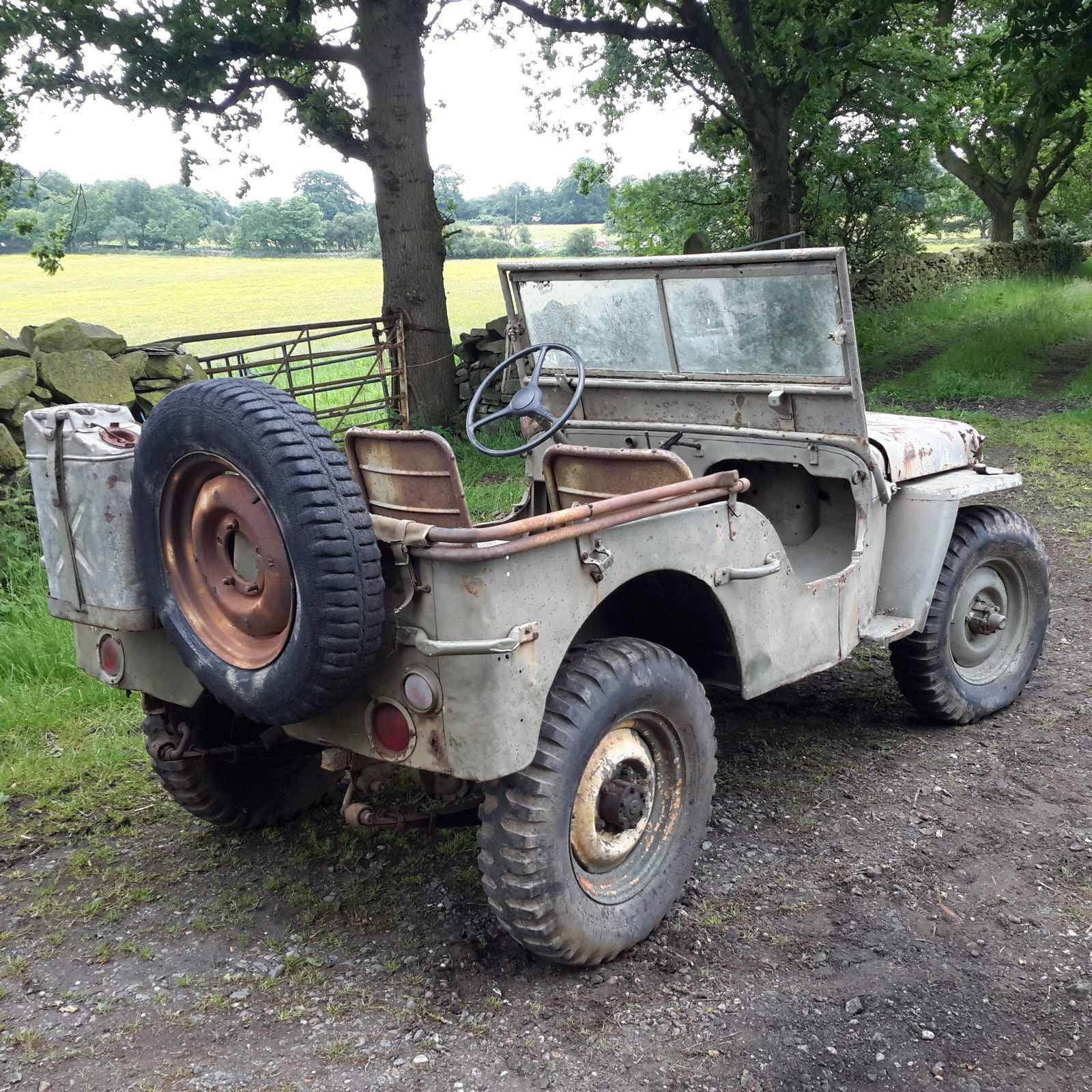 Willys jeep 1942 ford GPW ww2 jeep classic car barn find | eBay Jeep Dodge,