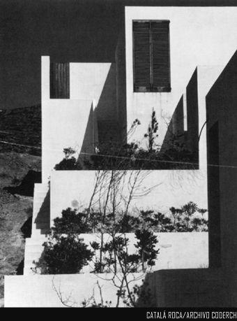 Casa ROZES. Roses (Girona), 1962 - PERFIL