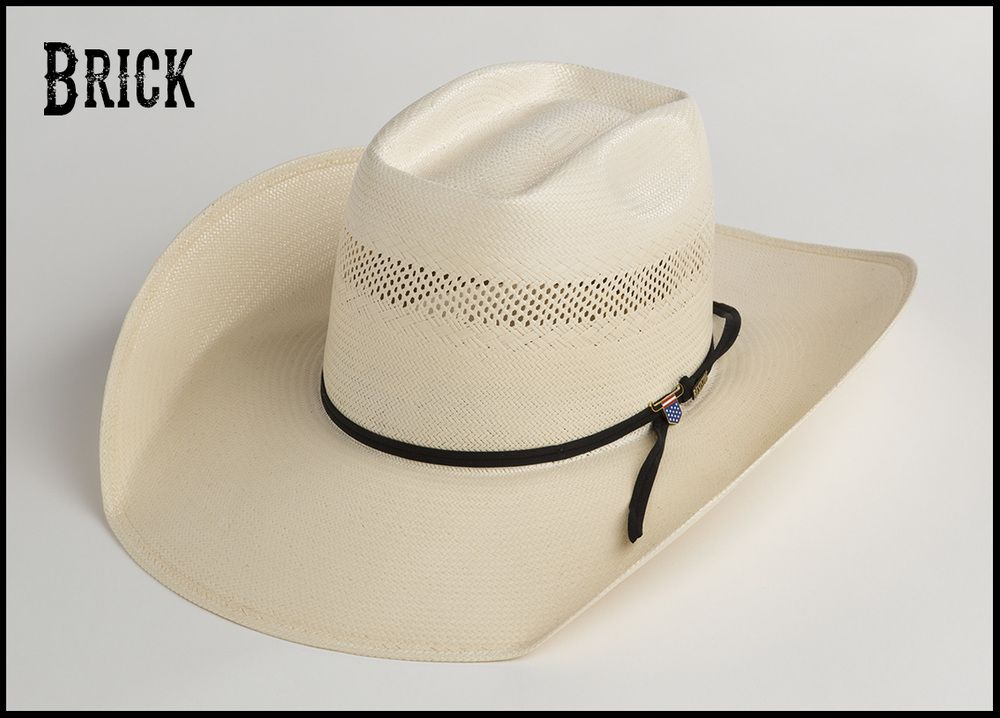 dee53aaf8d5 Brick, crease for cowboy hat crown. | Cowboy hats | Hats, Cowboy ...