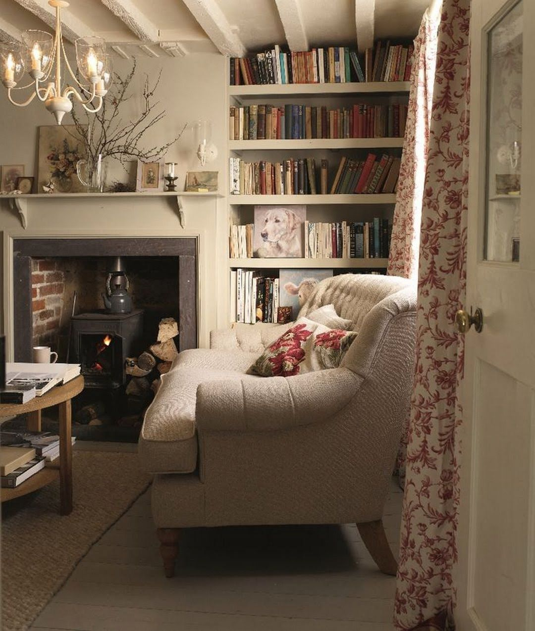 40 Cozy Small Living Room Ideas For English Cottage: 81 Cozy Home Library Interior Ideas (With Images
