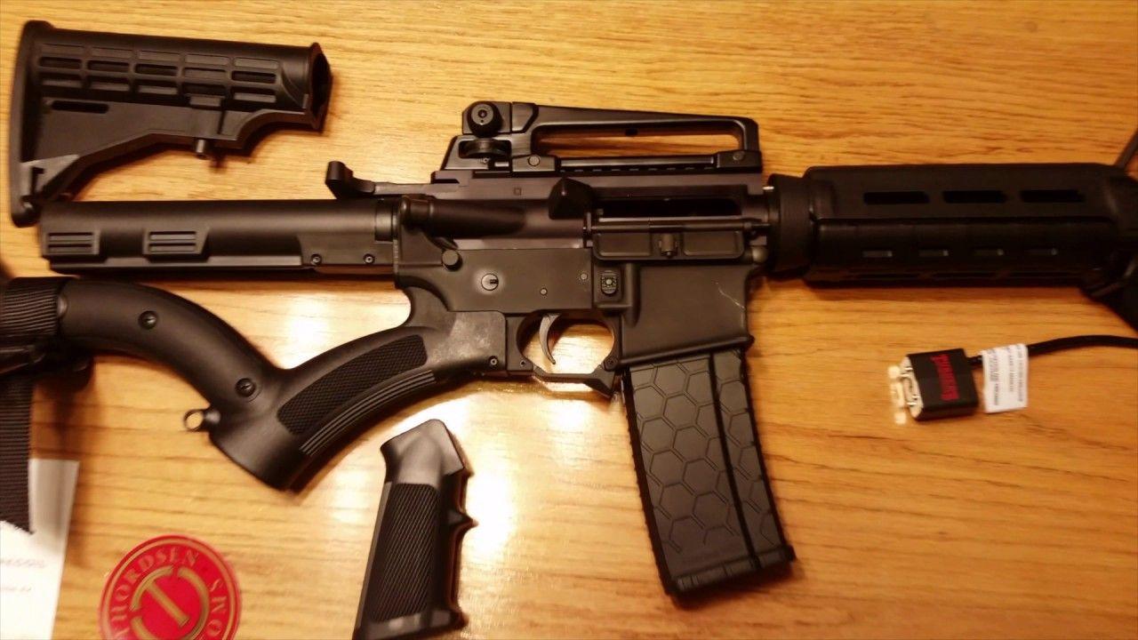 California Legal Compliant Featureless AR15 Rifle