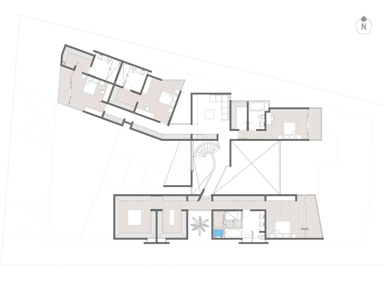 Galeria de resid ncia claroscuro roblesarq 18 - Residencia de manila swimming pool ...
