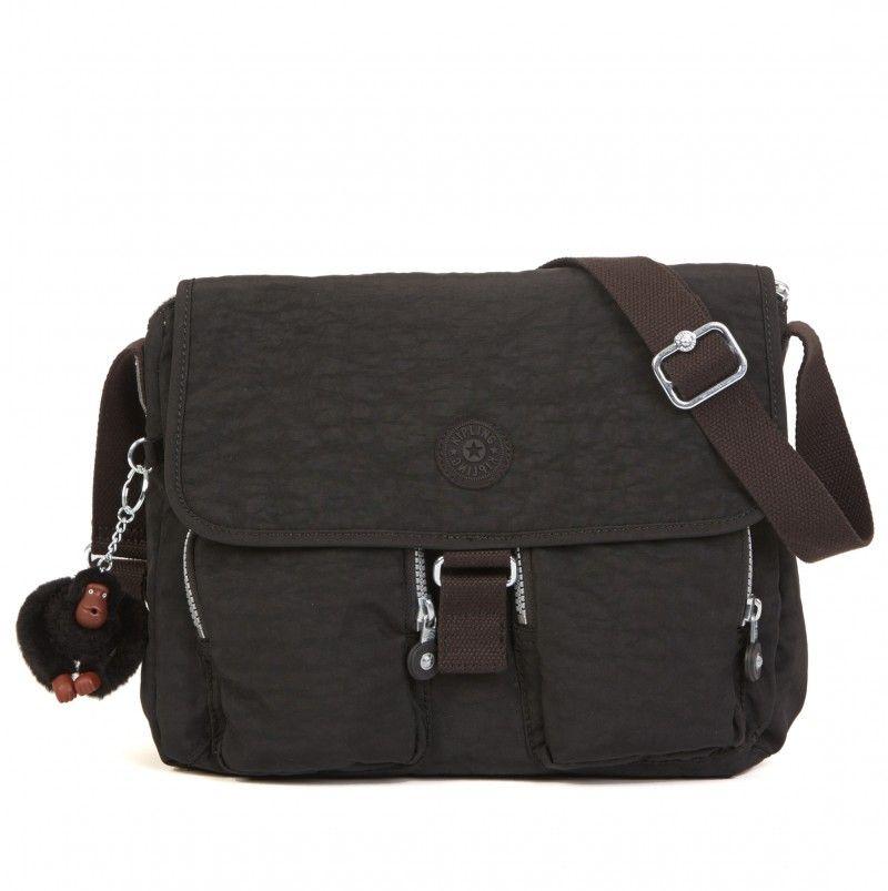 fama Enjuiciar levantar  Kipling New Rita Medium Crossbody Bag - Black | Bolsas mochila, Bolsas,  Preto