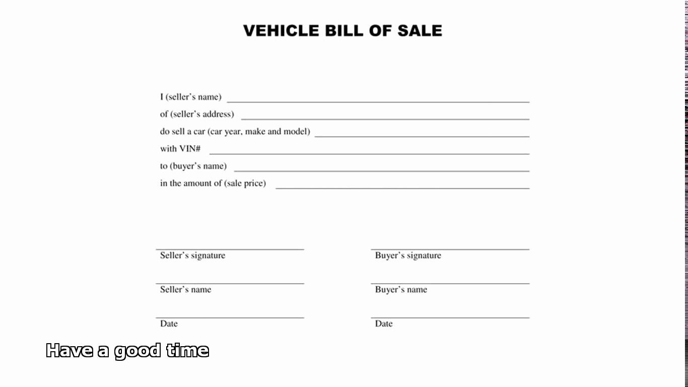 Bill Of Sale Form Template New Form Template General Bill Sale Form General Bill Bill Of Sale Template Word Template Bill Of Sale Car