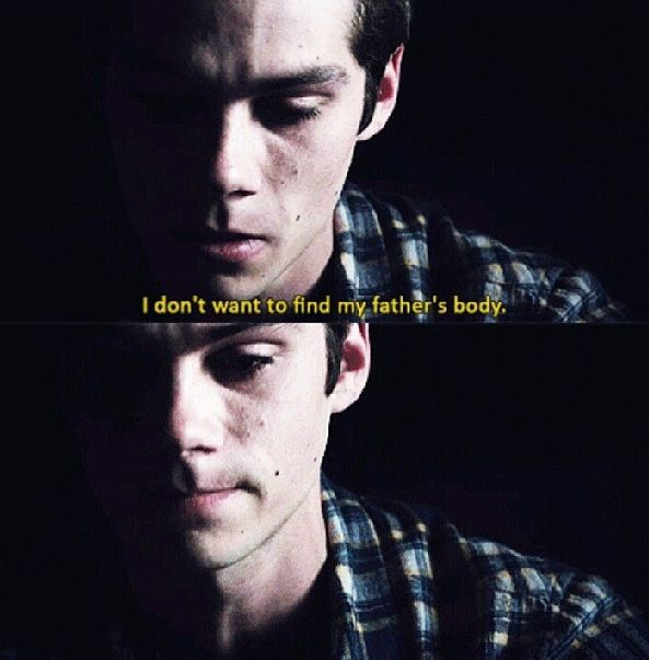 Teen wolf literally almost cried :'( poor stiles