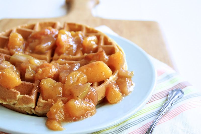 Naturally Ella   Peachy Waffle Sauce   Page: 1   Naturally Ella