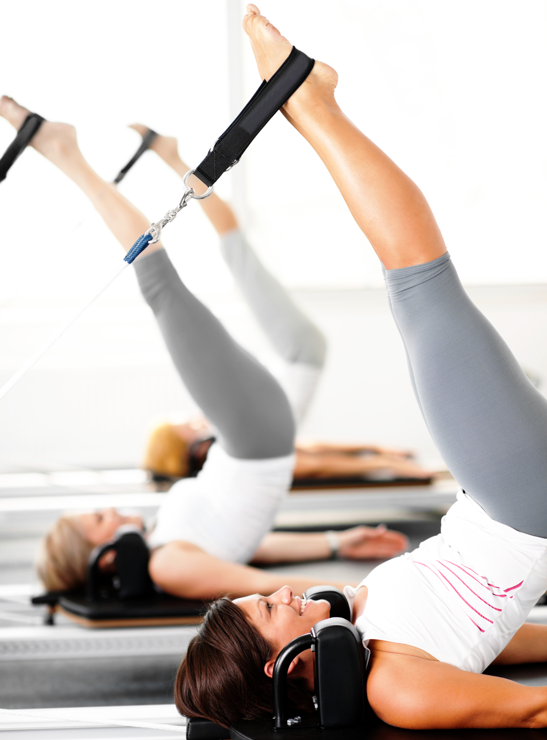 What Are Those Weird Pilates Machines Pilates Workout Pilates Reformer Pilates Reformer Exercises