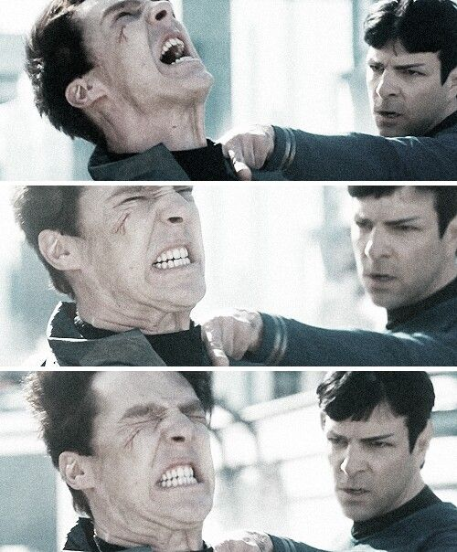Khan and Spock