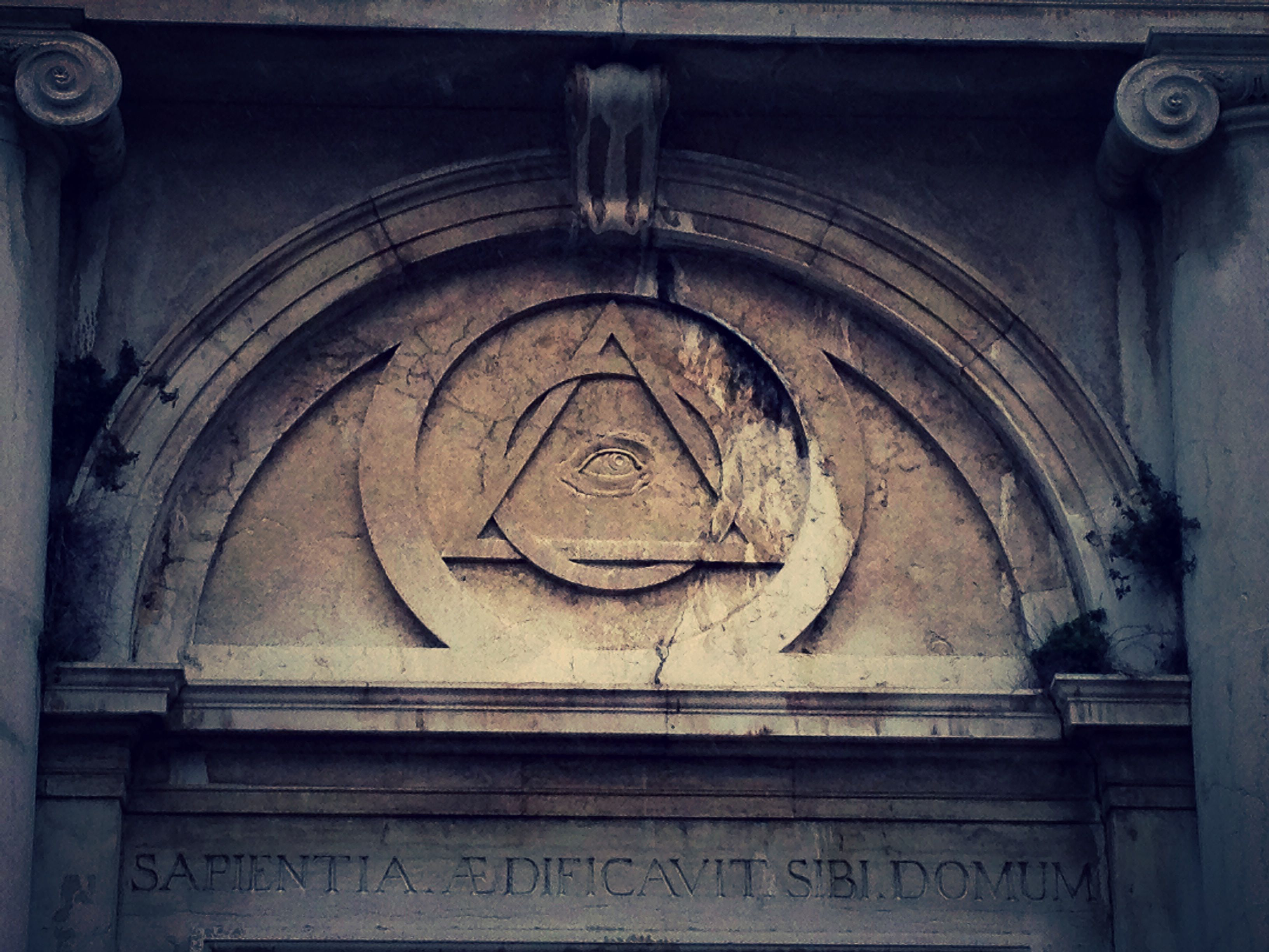 Illuminati symbol on an ancient structure in venice italy illuminati symbol on an ancient structure in venice italy buycottarizona
