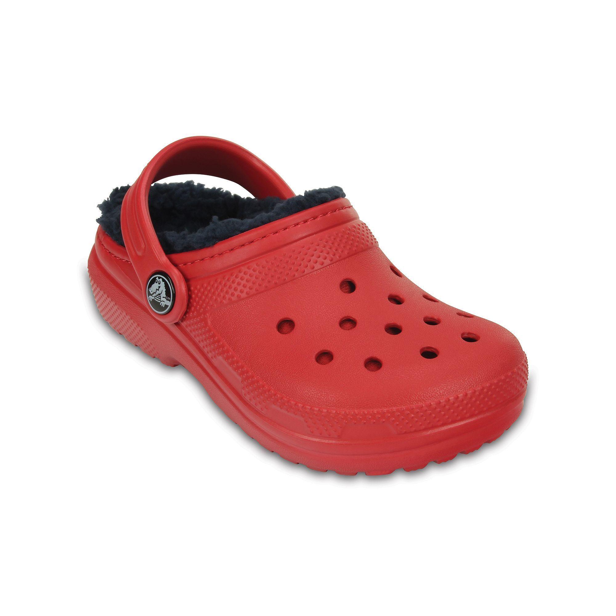 e329621d46e1 Crocs Classic Lined Boys  Clogs