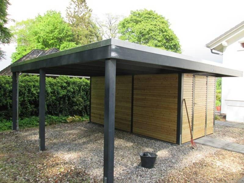 Garage mit carport und abstellraum  Carport modern mit Abstellraum | We'll do it 🙂 | Pinterest | Pergolas