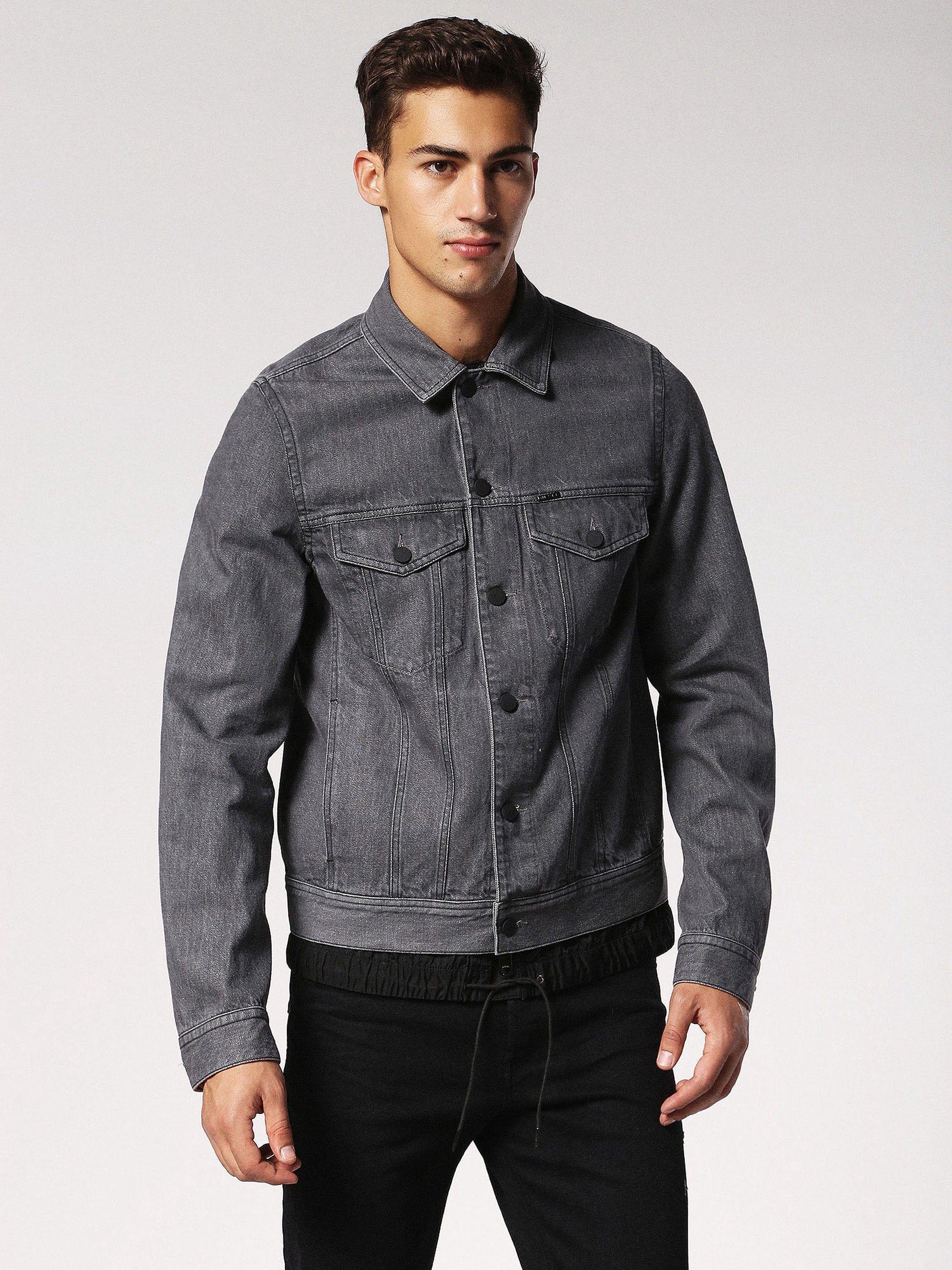 Diesel D Ashton C Denim Jackets Diesel Cloth Denim Jacket Men Diesel Clothing Mens Jackets [ 2667 x 2000 Pixel ]