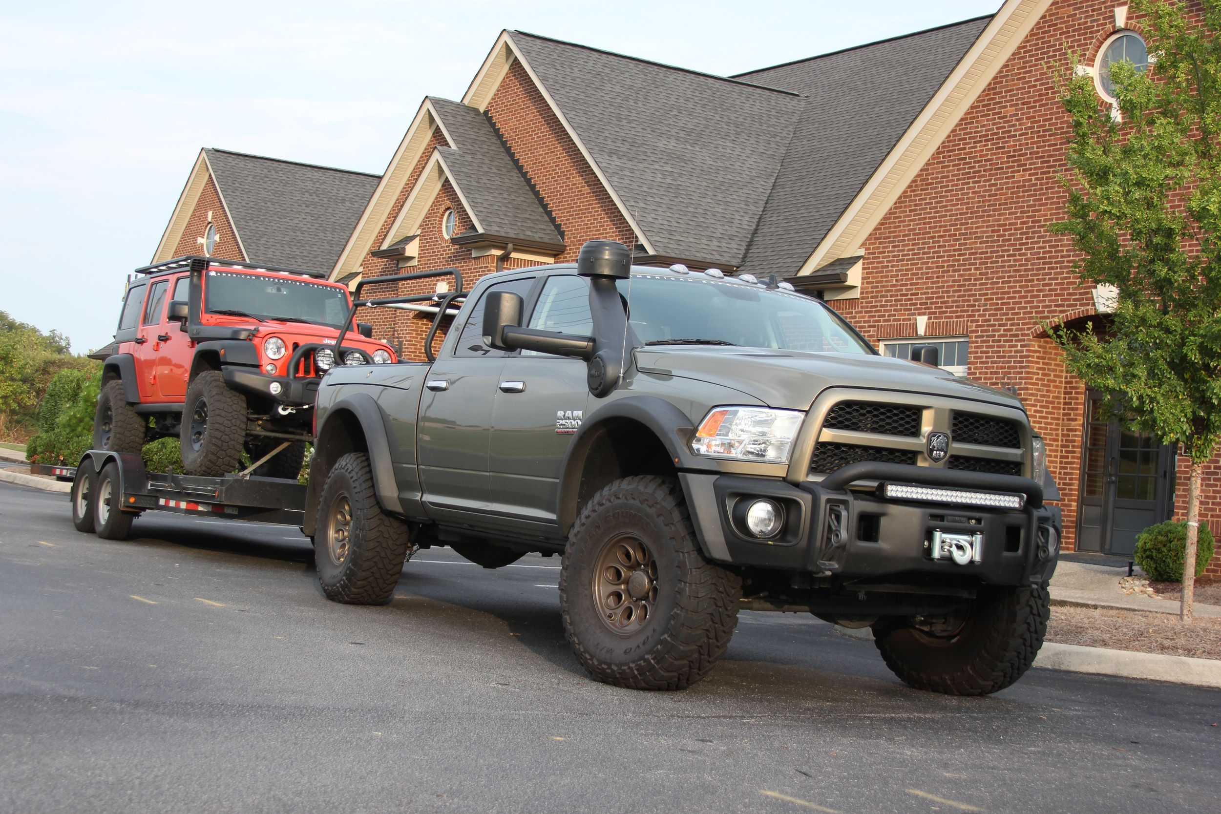 Prospector XL Tray Bed | Expedition vehicle, Dodge trucks ram