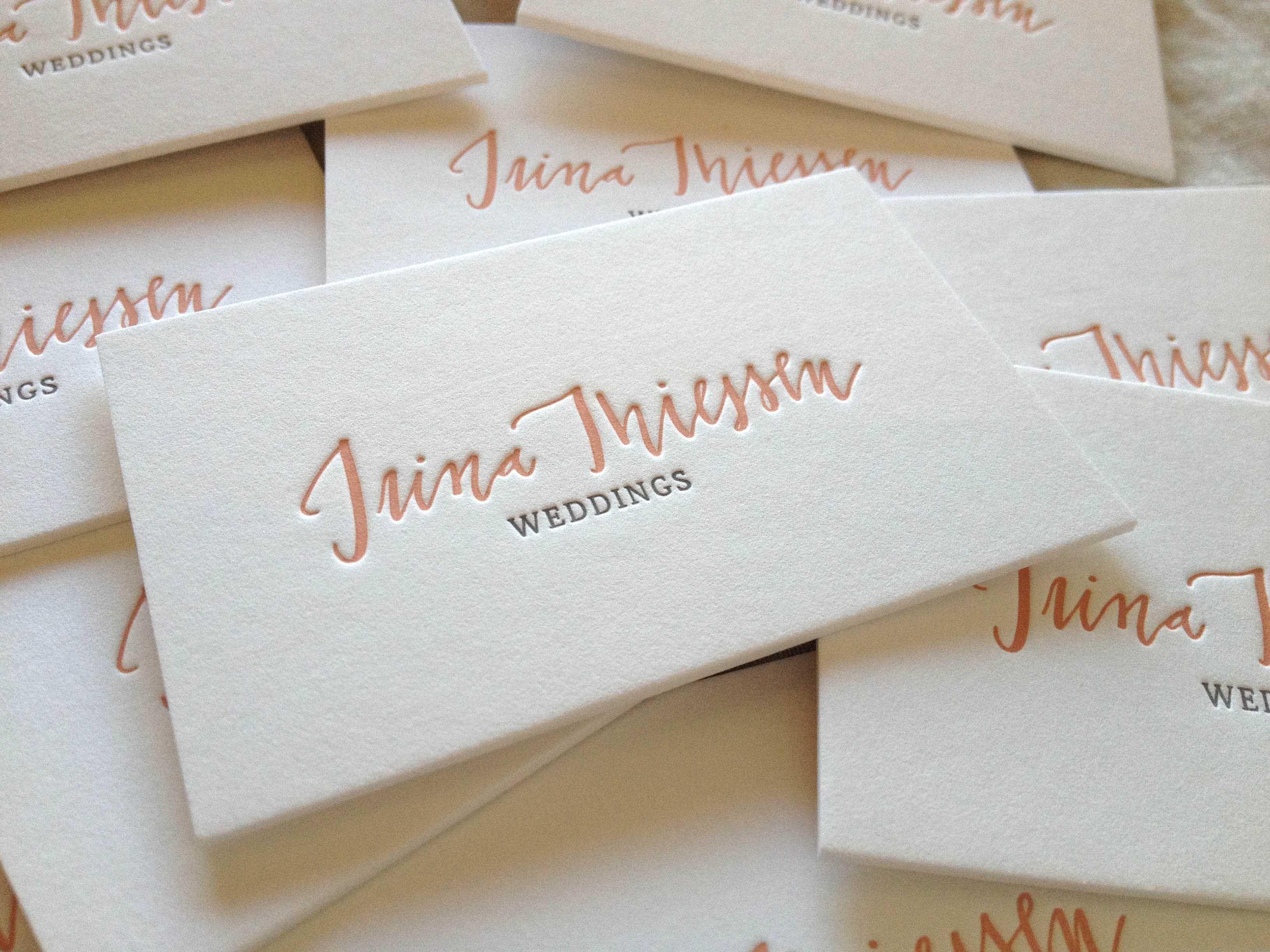 Wir Lieben Die Schöne Apricot Farbe Der Letterpress