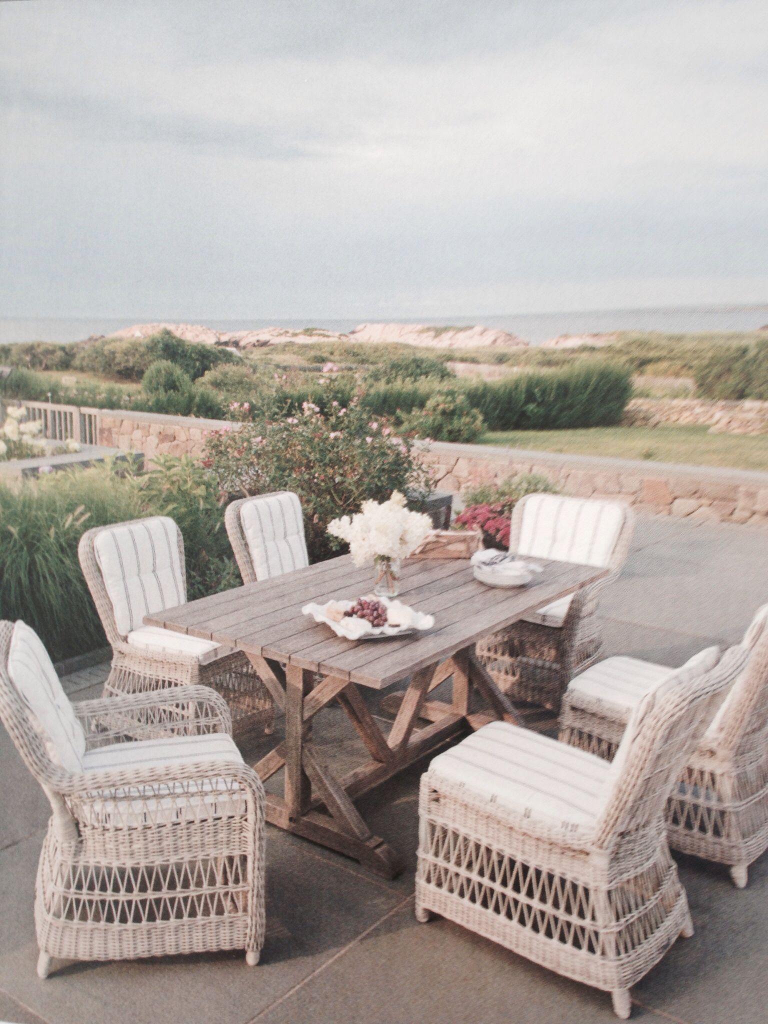 Kingsleybate elegant outdoor furniture for coastal home beach homes coastal homes