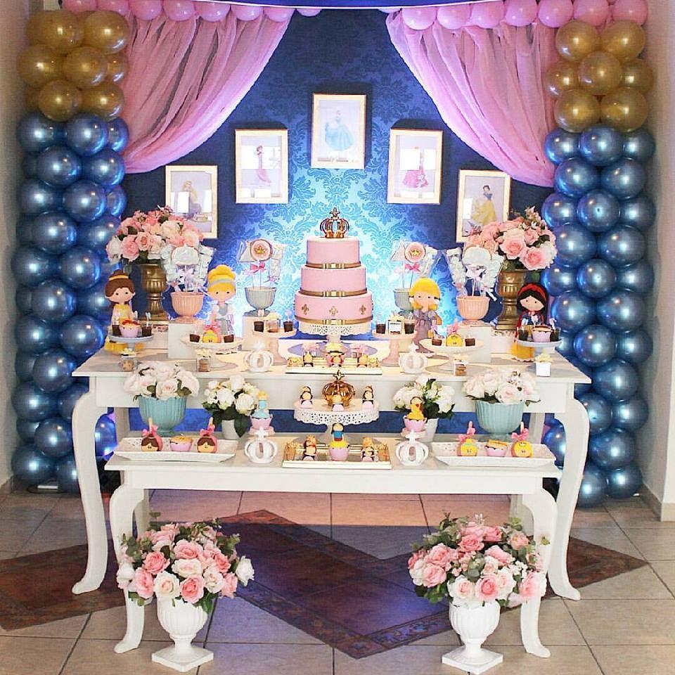 Festa Princesas Disney By Tom Decor Com Imagens Decoracao