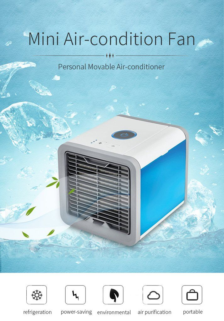 Mini Portable Air Conditioner (With images) Portable air