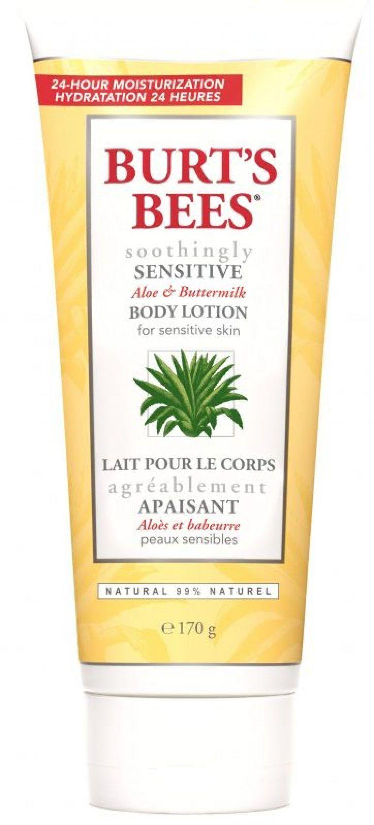 Aloe buttermilk body lotion burts bees ca body