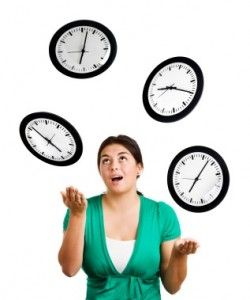 How to create a time budget….