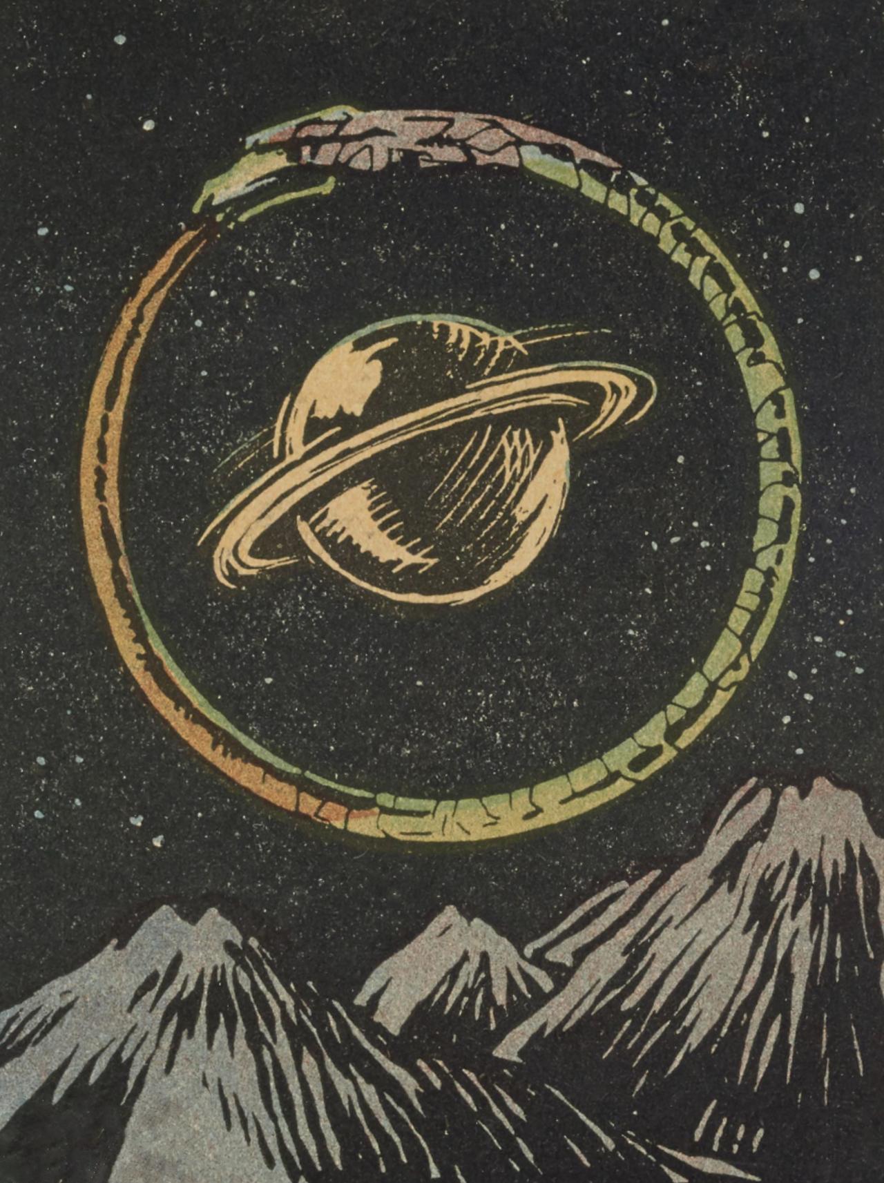 Clawmarks Jeu Dit De Tarot Astologique Henri Armengol Ouroboros Wall Prints Art