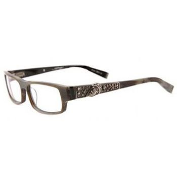 Ed Hardy Color Darkhorn Eho701 Eyeglasses | Ed hardy | Pinterest ...
