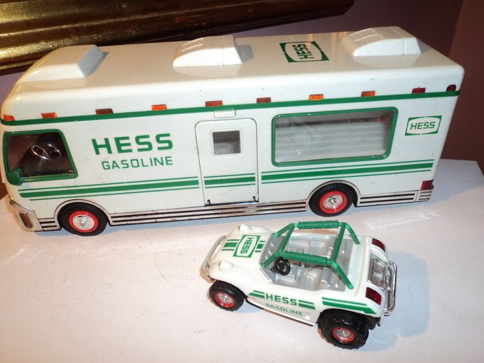 My Grandmother Used To Give Us A Different Hess Truck Every Year