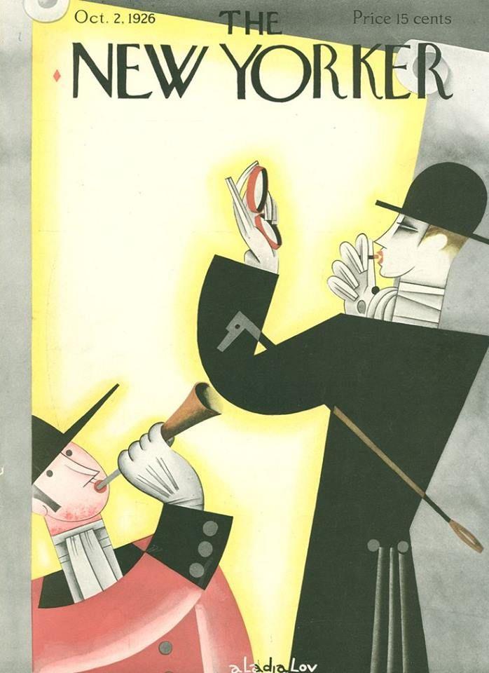 The New Yorker October 2, 1926  Cover Art - Constantin Alajálov