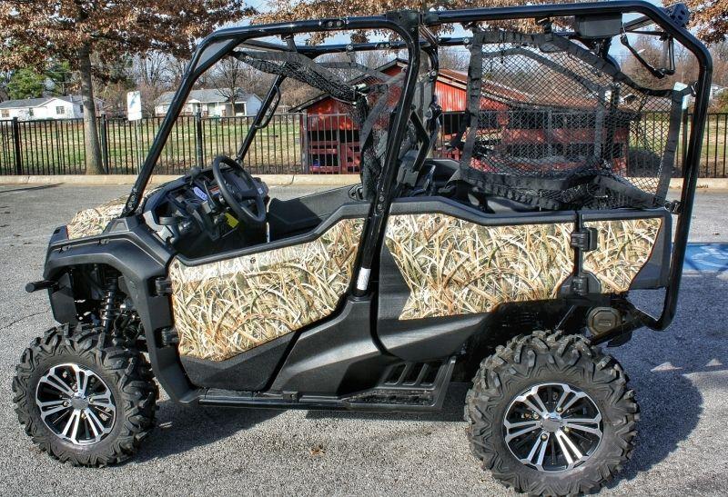 Custom Honda Pioneer 10005 Camo Wrap Mossy Oak