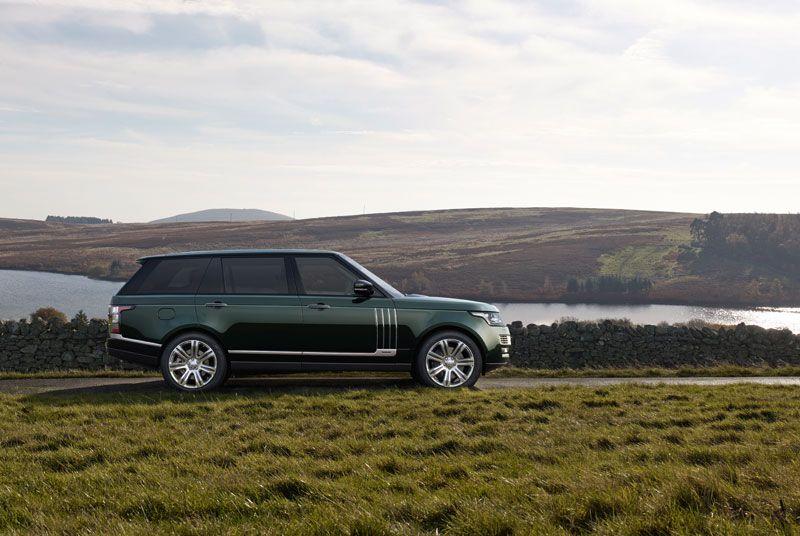 British Luxury Car The Holland Holland Range Rover Range Rover Range Rover Supercharged Land Rover
