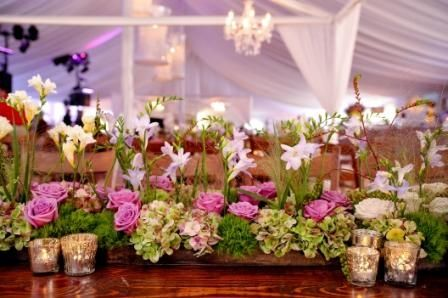 Gorgeous Flowers By Deryck Dematas For A Wedding Celebration At