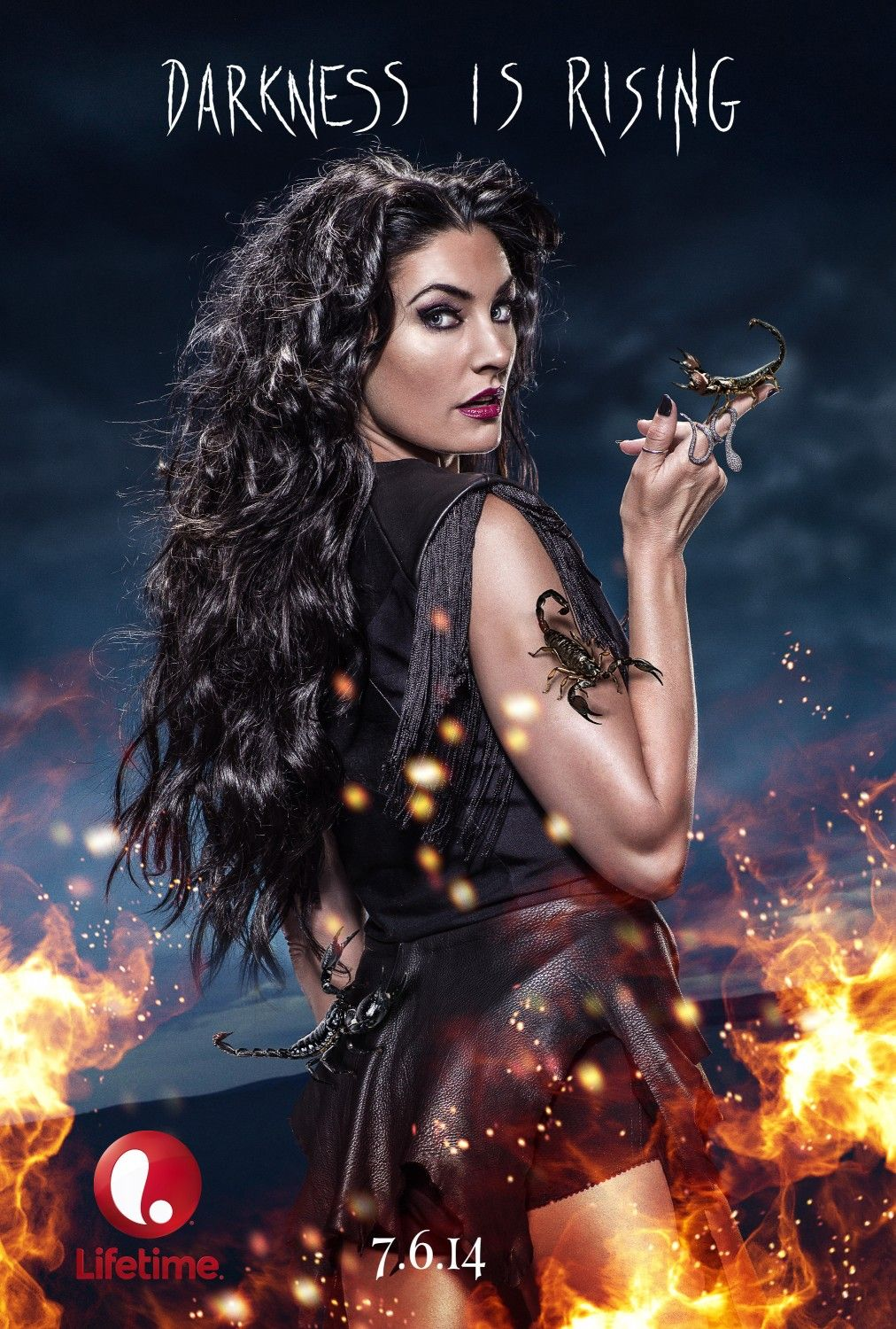 6 Witches Of East End Character Posters Com Imagens Bruxas De