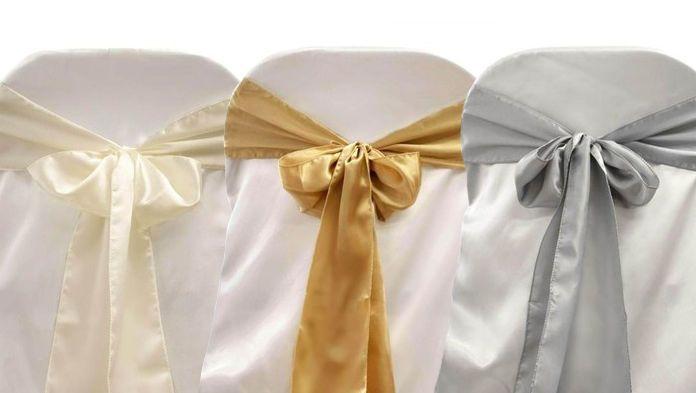 150 Pcs Satin Chair Sashes Bows Ties Wedding Decorations Wholesale Discount Wholesale Wedding Decor Bow Tie Wedding Jeans Wedding