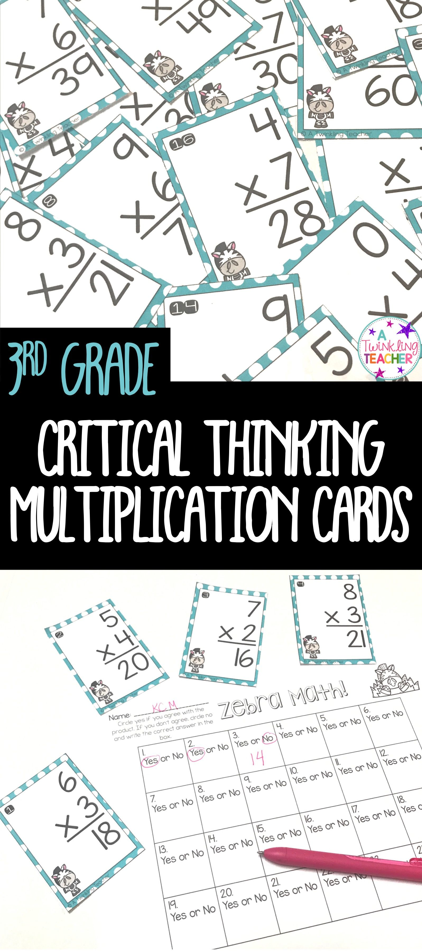 Multiplication And Division Math Center Scoot