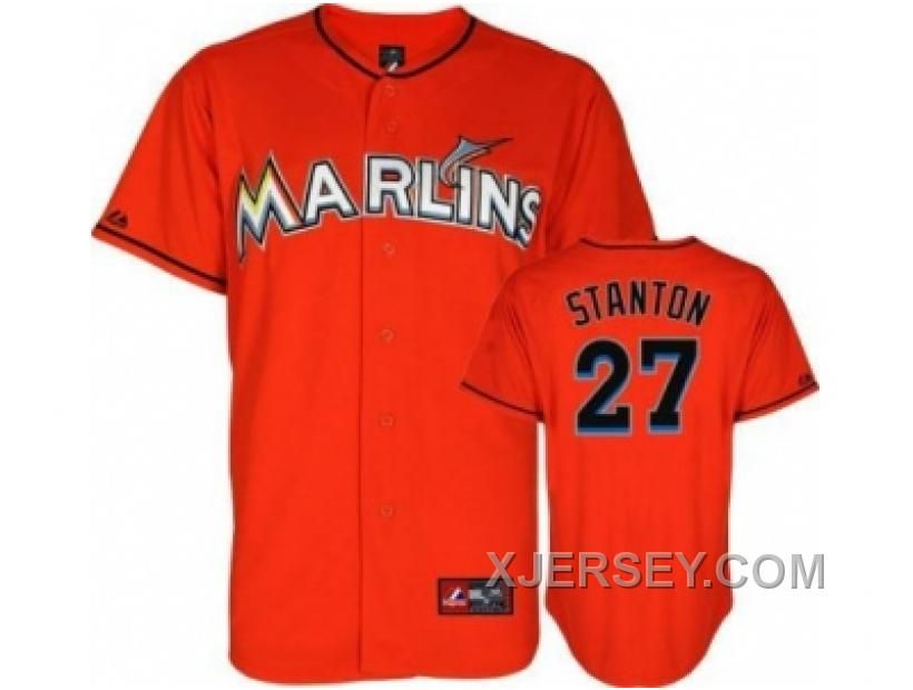 http://www.xjersey.com/new-arrival-mlb-florida-marlins-27-stanton-orange.html NEW ARRIVAL MLB FLORIDA MARLINS #27 STANTON ORANGE Only $34.00 , Free Shipping!