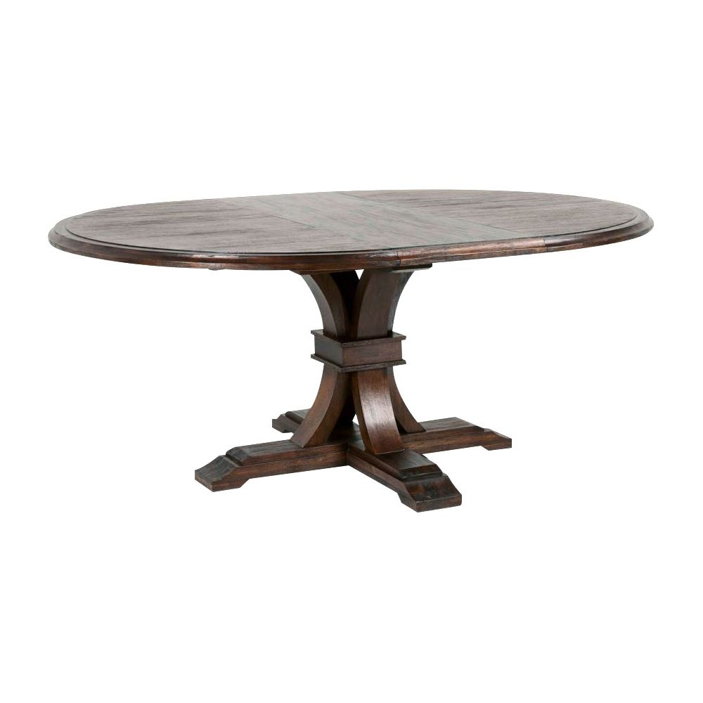 Beautiful Pedestal Extending Dining Table