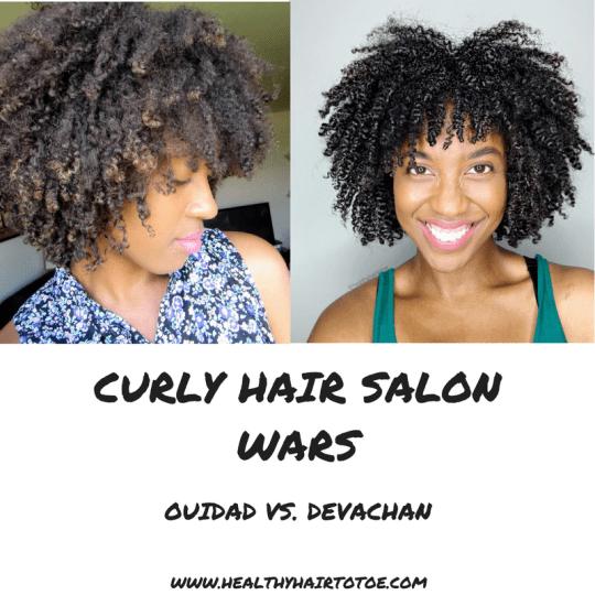 Curly Hair Salon Wars Ouidad Vs Devachan Curly Hair Salon Nyc Hair Salon Curly Hair Styles