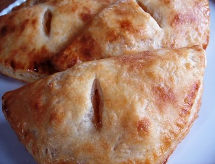 Peach Hand Pies: These are so great, and a wonderful use  of canned peaches or other fruits, if you're into canning :)