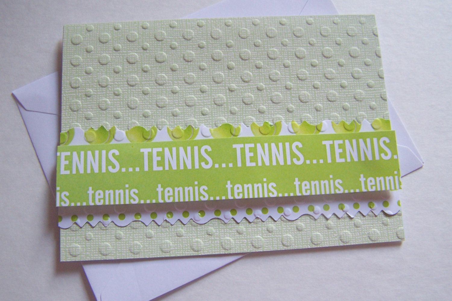 Tennis Handmade Cards Makes A Great Father Card Teen Birthday Card