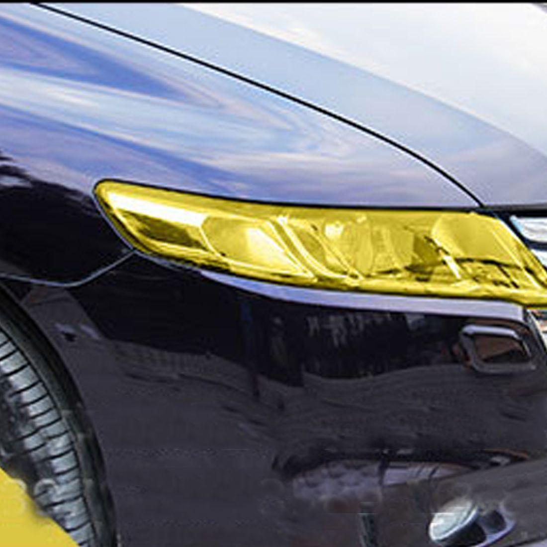 Hot Sale 120 30cm Auto Car Light Headlight Taillight Tint Vinyl Film Sticker Sheet Light Black Car Light Color Ch Mirror With Lights Exterior Accessories Tints [ jpg ]