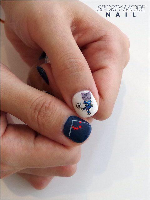 soccer cat nail
