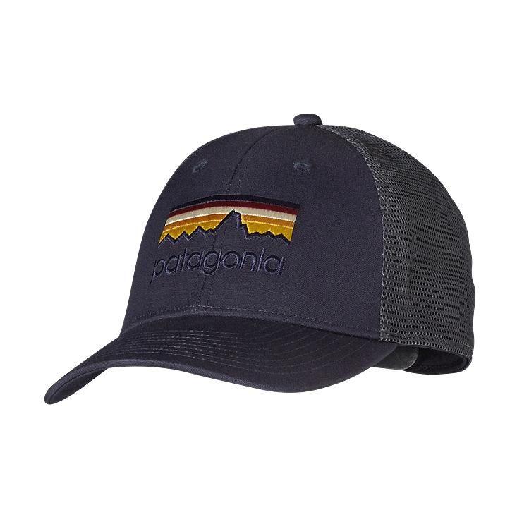 Patagonia Line Logo LoPro Trucker Hat - Smolder Blue SMDB ... 3a0c56445823