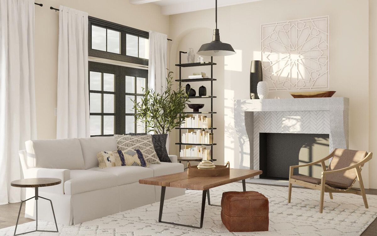 5 Ways To Incorporate Modern Farmhouse Design Home Farm House Living Room Modern Farmhouse Living Room Modern Living Room Natural