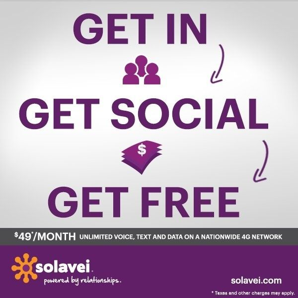 Solavei Fact #327: When sharing Solavei, enrolling three of your friends and family will earn you $20 every month! www.solavei.com/josemiranda