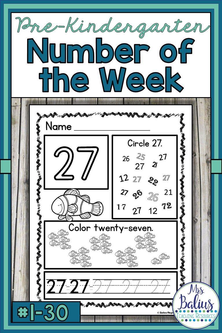 Number Sense Numbers 1 30 Bundle Pre Kindergarten Math Pre Kindergarten Math Math Worksheets Kindergarten Math Numbers [ 1152 x 768 Pixel ]