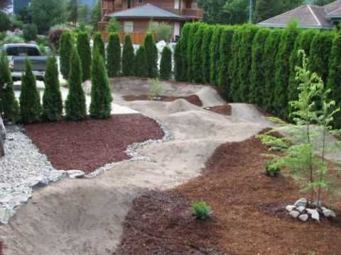 Backyard Pumptrack wife friendly pumptrack | pump track ideas | pinterest | track, bmx